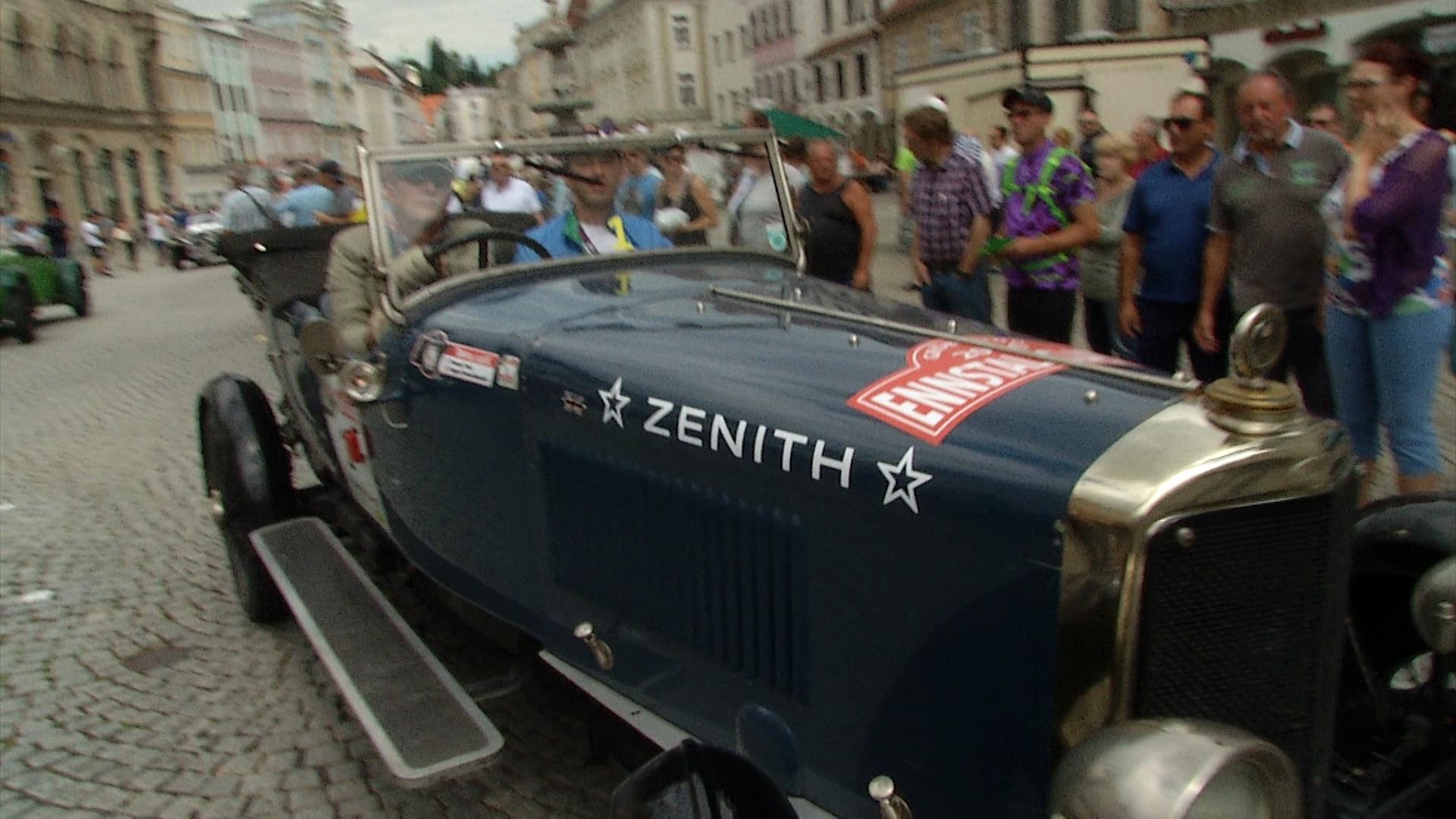 Teuerster Oldtimer Der Welt Ennstal Classic In Steyr Lt 1 Oö
