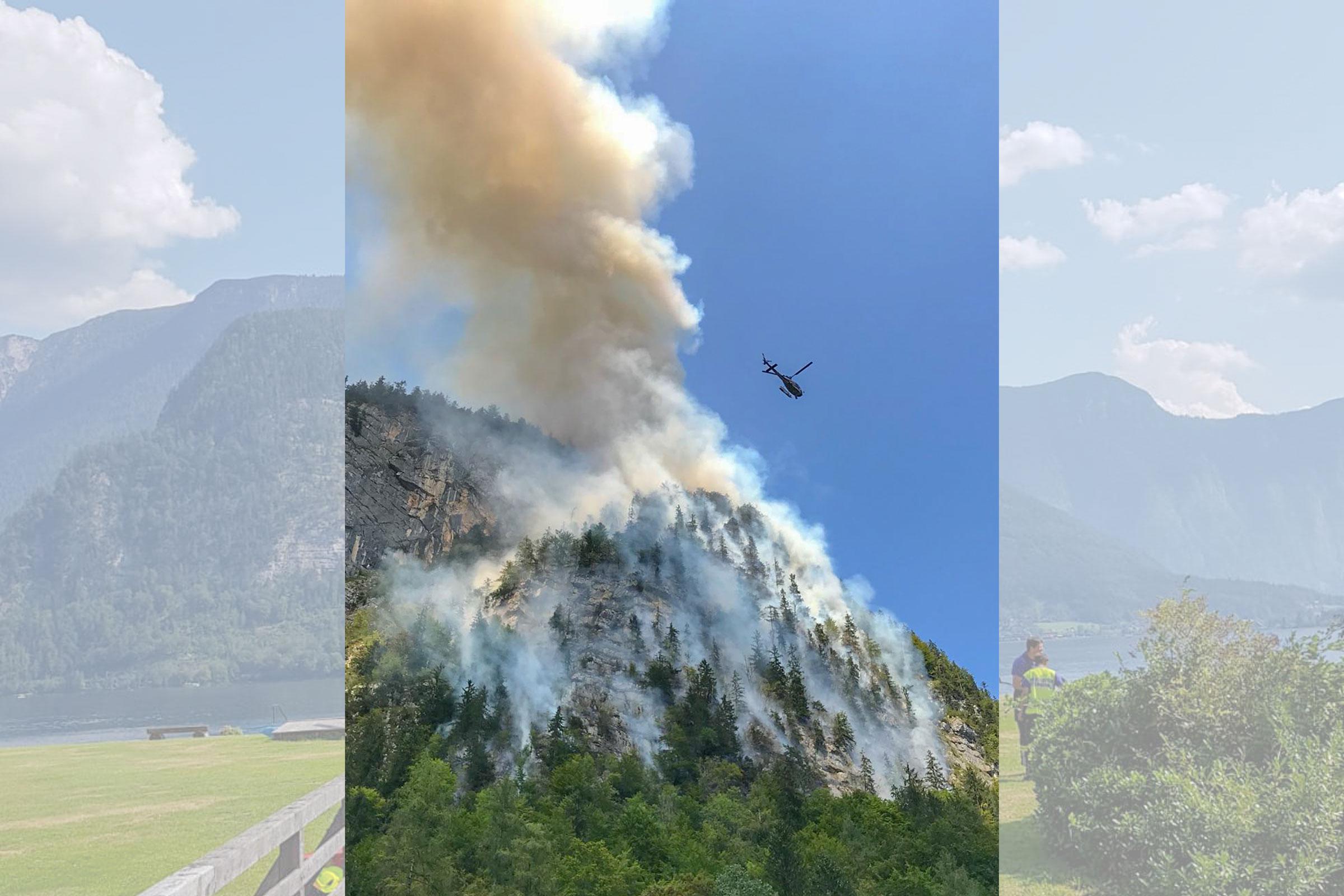 Klettersteig Hallstatt : Brand in klettersteig lt oÖ größter privatsender