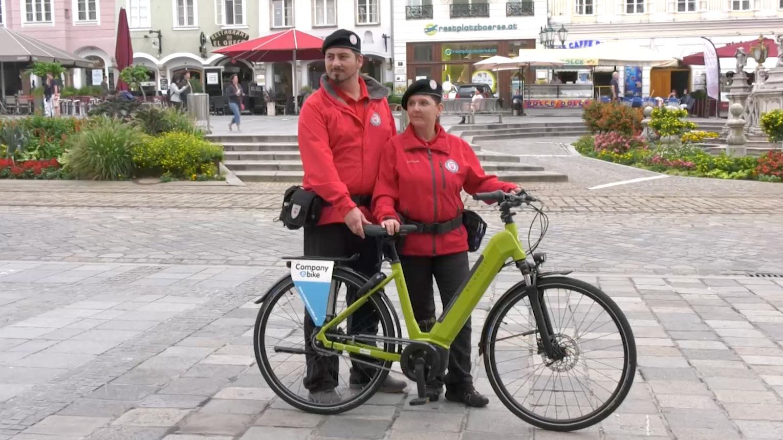 Stadtwache bekommt E-Bikes - LT 1 - OÖ größter Privatsenderlt1.at