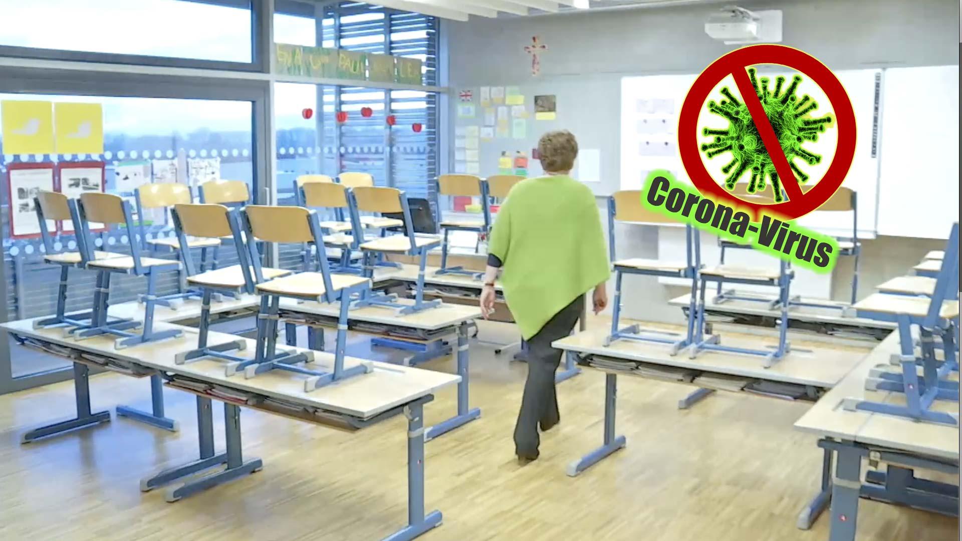 """Schüler sollen ab Montag zuhause bleiben"" - LT1 ..."